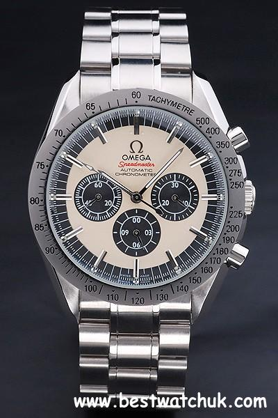 Best replica omega speedmaster chronograph automatic steel watch