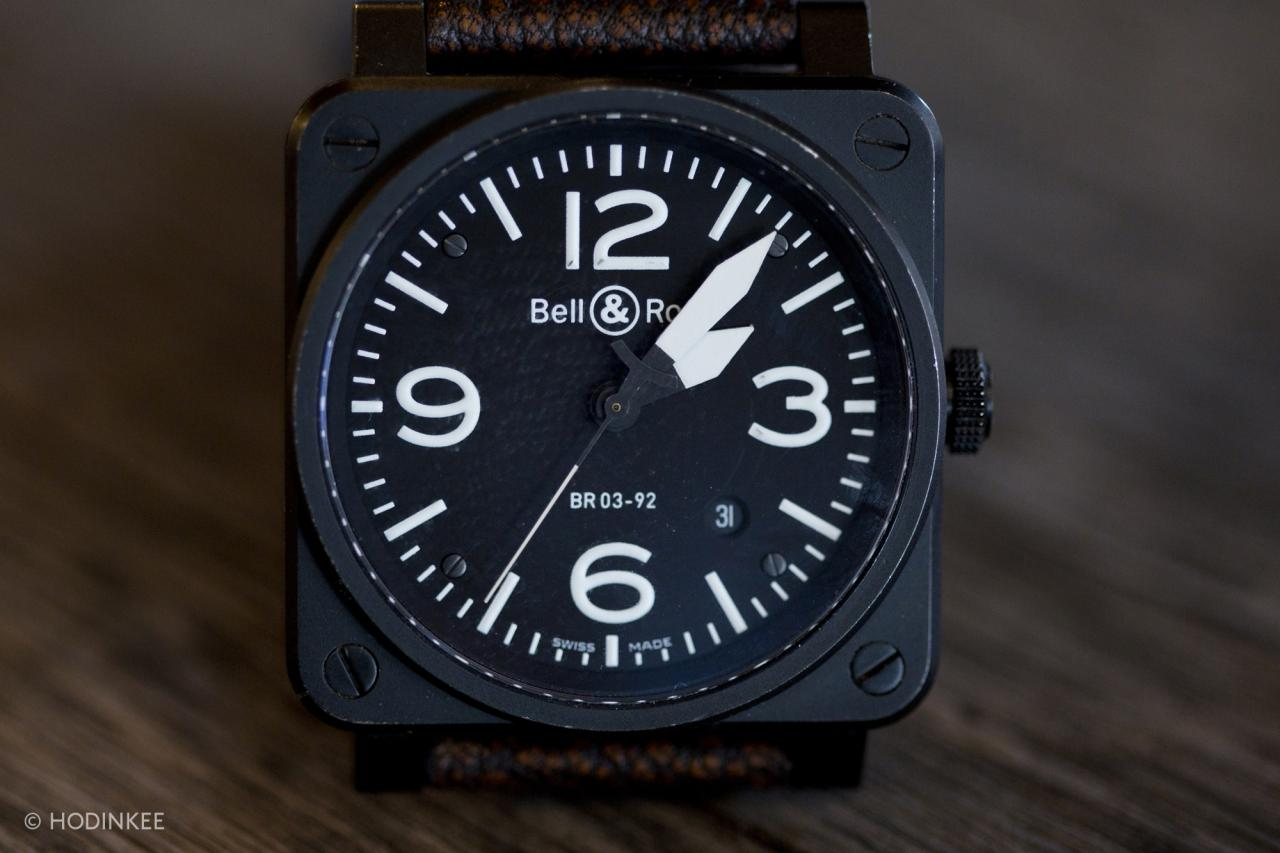 Talking Replica Bell & Ross BR 03 Watches With Brad Farmerie