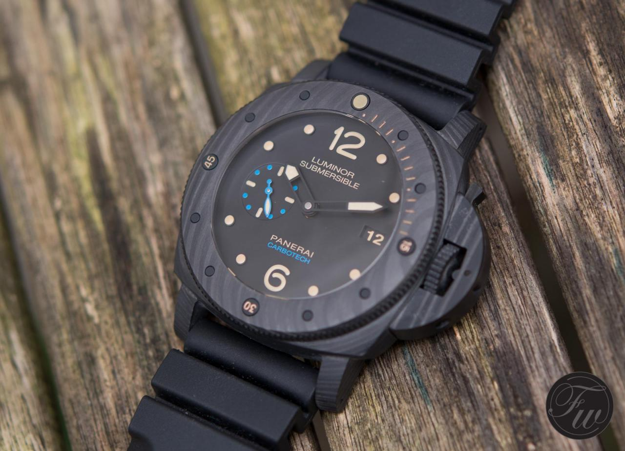 Replica Panerai Luminor Submersible 1950 Carbotech 47mm Watch PAM 616