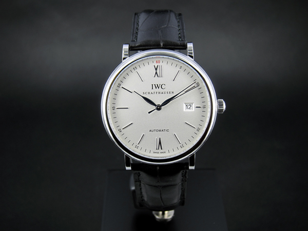 Luxury Replica IWC Portofino Automatic White Dial Steel Watches On Sale