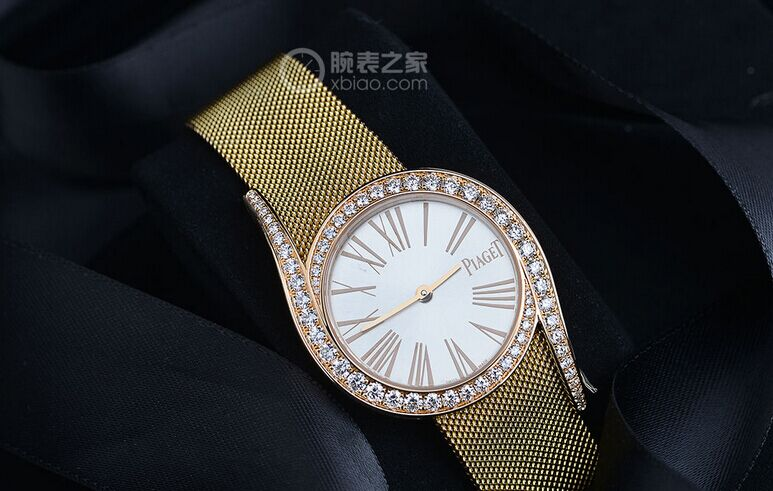 Piaget Limelight Gala Milanese 18K Rose Gold Diamond Replica Watches