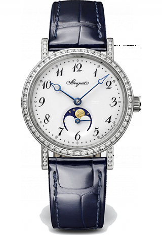 Breguet Classique Fake Watches With White Enamel Dials