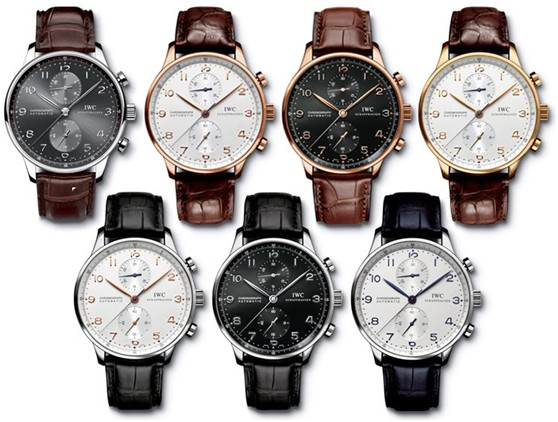 In Depth the Collection of IWC Portuguese Chronograph Replica Watches
