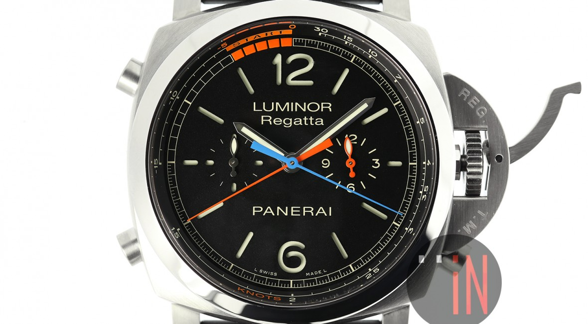 Talk About The Panerai luminor 1950 regatta 3 days chrono flyback automatic titanio replica watch PAM 526