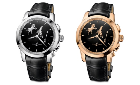 "New desing ulysse nardin hourstriker watch replica: Ulysse Nardin Hourstriker ""Horse"" Replica Watch"