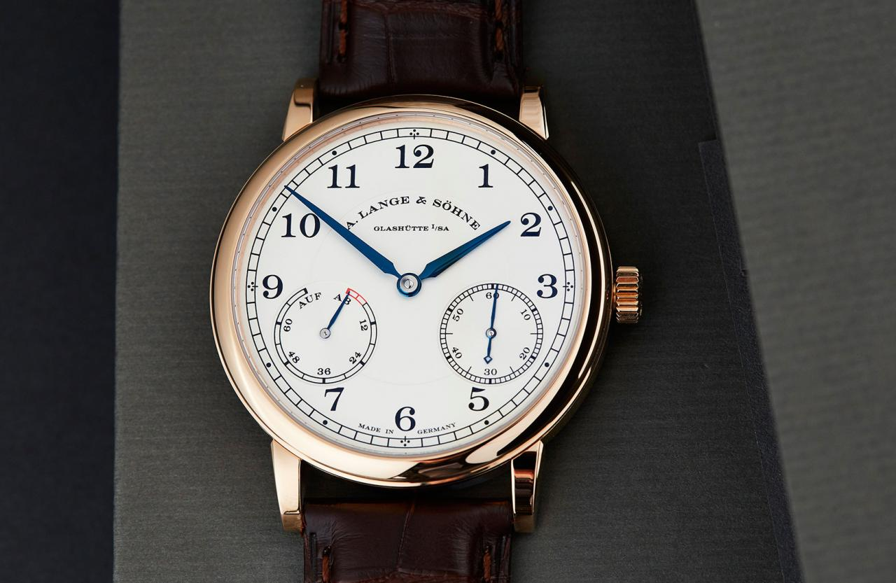 Rose Gold A. Lange & Söhne 1815 Up/Down Replica Watch