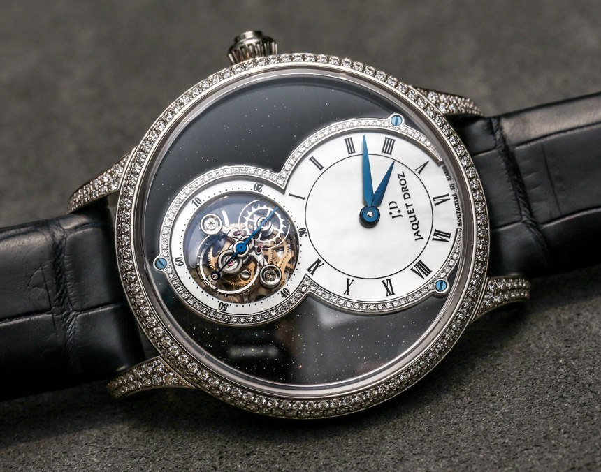 Jaquet Droz Grande Seconde Tourbillon Aventurine Watch Hands-On Replica Trusted Dealers