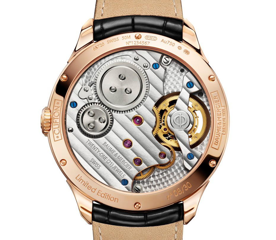 Replica Wholesale Suppliers SIHH 2014: Introducing the Baume & Mercier Clifton Flying Tourbillon, an entry-level tourbillon with a lot of IWC inside (with specs and price)