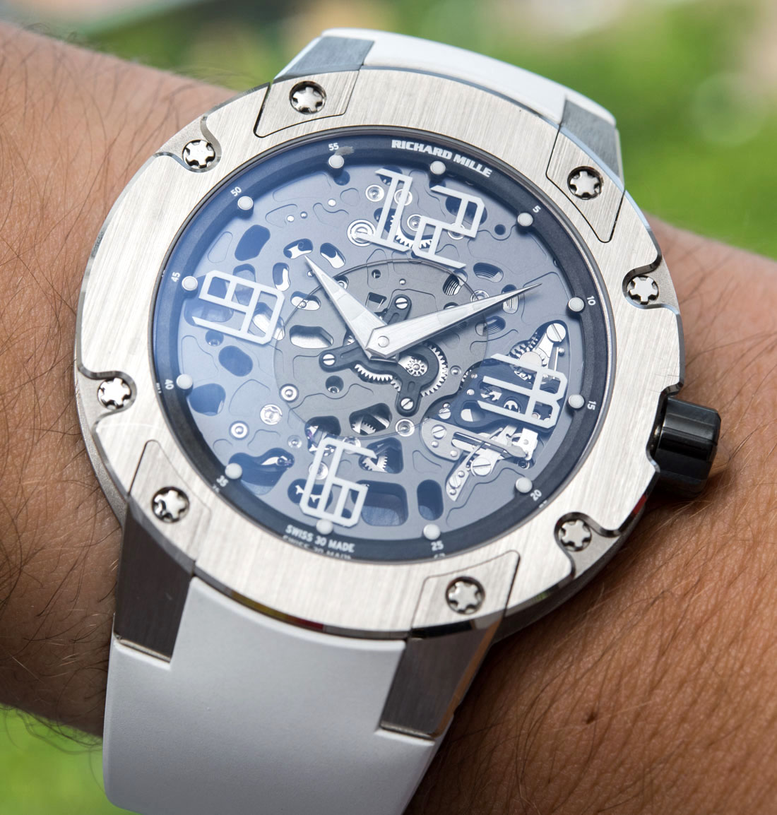 Replica Expensive Richard Mille RM033 In White Gold Watch Review