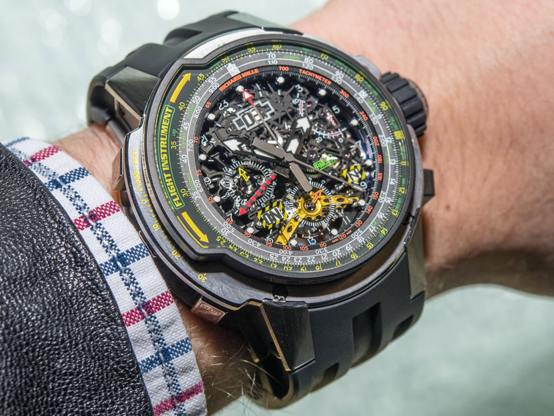 Japanese Movement Replica Richard Mille RM 039 Tourbillon Aviation E6-B Flyback Chronograph Watch Hands-On