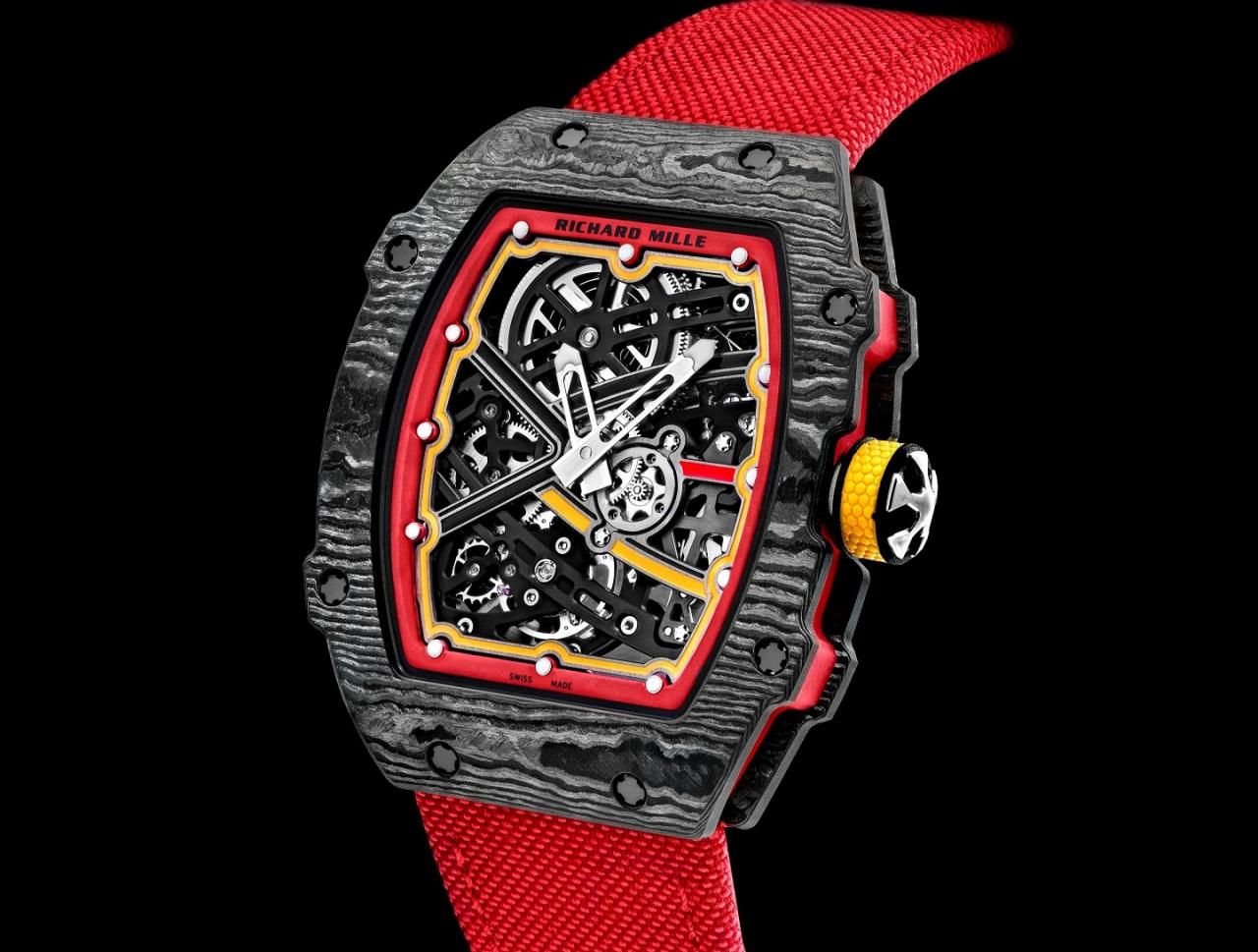 Replica Buyers Guide Richard Mille RM 67-02 Alexander Zverev Edition Watch